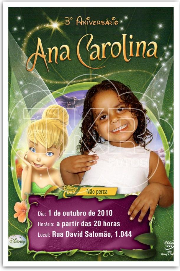 Convite Tinker Bell Ana 3