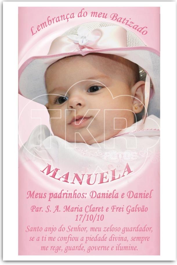 Batizado Manuela