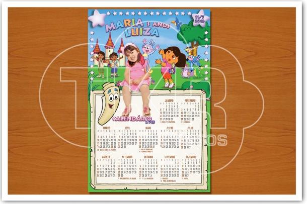 Ima Calendario Dora Mapa