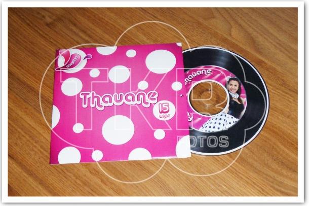 Convite Mini LP Anos 60