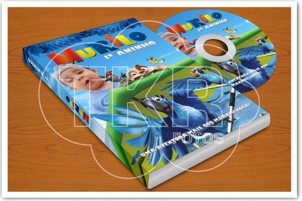 Convite DVD Filme RIO
