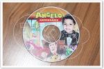 Convite DVD Toy Story disco