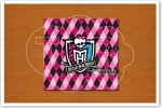 Convite Monster High Verso