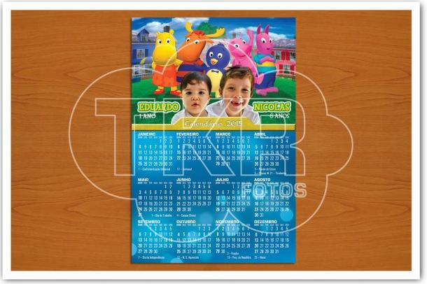 Calendario com ima