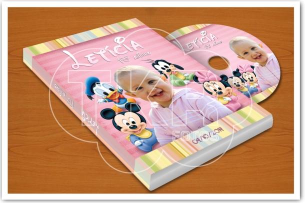 lembrança baby disney dvd