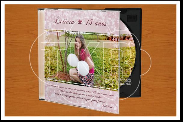 Lembrança CD 15 anos
