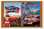 Lembranca DVD Carros Encarte