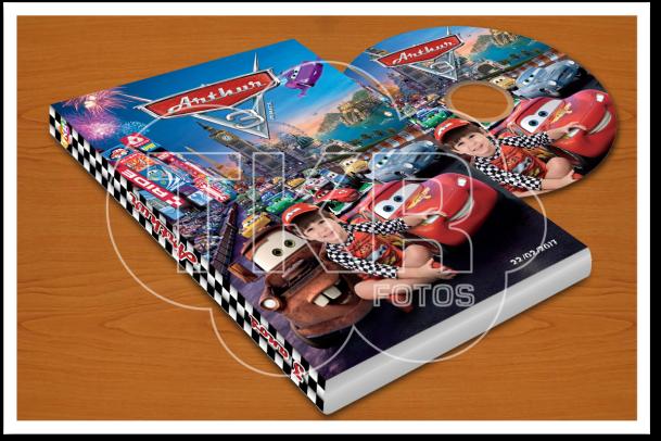 Lembranca DVD Carros Disney